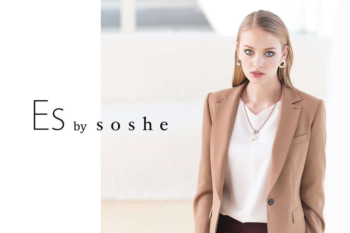 Es by soshe 2018AW NEW COLLECTION
